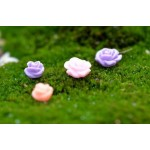 Fairy Garden Micro Landscape Miniature Garden Emulational Flower   Rose    Resin CraftworkSmall Fairy Garden Ornament Fairy Garden Accessories Decorate Material Fairy Garden Decoration Fairy Garden Accessories