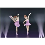 PVC Plastic Ballerina Cake Topper Wedding Party Supplies Girl Baby Shower Birthday Party Decorations Kids Gift Cake Accessory