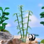 Fairy Garden Plants Mini Bamboo Plant Figurine Fairy Garden Accessories Micro Landscape Bonsai Decor DIY Fairy Garden Supplies Miniature Fairy Garden Supplies Miniature Accessories