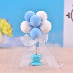 Dollhouse Miniature Scene Model Balloons Decoration Pretend Play Toy