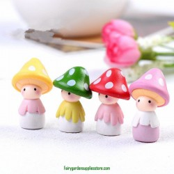 Mini Cute Resin Doll For DIY Mininature Plant Decoration Wholesale Price Fairy Garden Supply