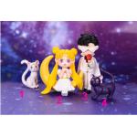 1pc new lovely Cartoon moon hare Sailor Moon Micro landscape ornaments for kids girl desktop decoration Model figure toys gift