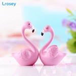 Flamingo micro landscape resin crafts Cake decor fairy garden Miniatures Home decoration accessories Figurines decorative