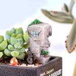 Resin Crafts Stone Castle Model Micro Fairy Garden Miniature Lovely Realistic Building DIY Accessories Decoration Fairy Fairy Garden Supplies Miniature Supplies