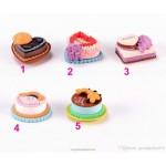 Mini Fairy Garden Resin Food Micro Landscape Decorative Cake Home Ornament Room Bonsai Ornament