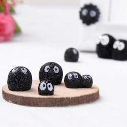 Christmas Little Black Briquettes Elf  Home Decoration Accessories Fairy House Garden Miniatures Mini Figurine Office Desk Decor
