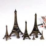 Metal Eiffel Paris Tower Miniature Fairy Garden Home Houses Decoration Mini Craft Micro Landscaping Decor Accessories
