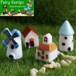 Windmill House  Moss Fairy Garden Micro Landscape Miniature Garden Fairy Garden Decoration Fairy Garden Accessories  FleshyDecorate Landscaping  Original Arts and Crafts  House Castle