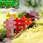 Signpost Moss Fairy Garden Micro Landscape Miniature Garden Fairy Garden Decoration Fairy Garden Accessories Fairy Garden Ornament FleshyWood Fairy Garden Decoration Fairy Garden Accessories Fence CraftworkFairy Garden Decoration Fairy Garden Accessori Fairy Gardens Fairy Garden Supplies Fairy Accessories