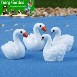 Swan Resin Fairy Garden Decoration Fairy Garden Accessories  Fairy Garden Micro Landscape Miniature Garden Fairy Garden Decoration Fairy Garden Accessories