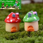 Flower Gardening Moss Fairy Garden Micro Landscape Miniature Garden Fairy Garden Decoration Fairy Garden Accessories   Mini Mushroom Small House  Castle  Landscaping Fairy Garden Decoration Fairy Garden Accessories Fairy Garden Ornament