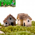 Small Small House  House  Thatched Cottage   Resin CraftworkFairy Garden Decoration Fairy Garden Accessories  Fairy Garden Micro Landscape Miniature Garden Fairy Garden Decoration Fairy Garden Accessories Decorate Material Fairy Garden Accessories