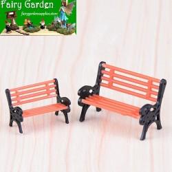 Park Deck Chair Stool Fairy Garden Micro Landscape Miniature Fairy Garden Bench Ornament Bonsai DIY Fairy Garden Accessories