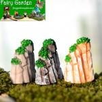 Moss Fairy Garden Micro Landscape Miniature Garden Fairy Garden Decoration Fairy Garden Accessories  Ecology Bottle Fairy Garden Accessories Three-colour  Landscaping Rockery  Succulent Plants Pot Small Fairy Garden Decoration Fairy Garden Accessories