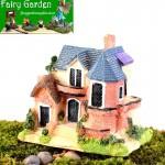 Mini Fairy Garden Kits Castle Model Kids Gifts Micro Landscape Miniature Garden Decorate Fairy Garden Decoration Wholse Fairy Garden Accessories Supplies Big Villa Small House