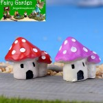 Moss Fairy Garden Micro Landscape Miniature Garden Fairy Garden Decoration Fairy Garden Accessories  Mediterranean Sea Style   Mushroom House  Castle  Landscaping Fairy Garden Decoration Fairy Garden Accessories Fairy Garden Ornament