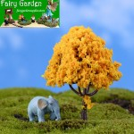 Moss Fairy Garden Micro Landscape Miniature Garden Fairy Garden Decoration Fairy Garden Accessories Decorate Tree Emulational Tree Flower Material Fairy Garden Ornament Landscaping Cherry Tree Apple Tree Fairy Fairy Garden Supplies Miniature Ornaments