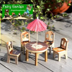 Emulational Table  Arts and Crafts  Succulent Plants  Fairy Garden Micro Landscape Miniature Garden Moss  Tourism Craftwork