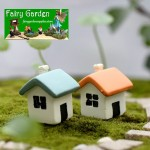 Moss Fairy Garden Micro Landscape Miniature Garden  Fairy Garden Ornament  FleshyFairy Garden Decoration Fairy Garden Accessories  Toy Figurine Fairy Garden Decoration Fairy Garden Accessories  Two Color Small House BStyle  DIYMaterial