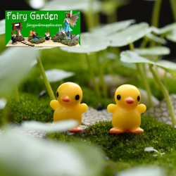 Moss Fairy Garden Micro Landscape Miniature Garden  Succulent Plants Fairy Garden Decoration Fairy Garden Accessories   Small Yellow Duck    Small Fairy Garden Decoration Fairy Garden Accessories DIYMaterial