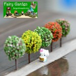 Fairy Garden Micro Landscape Miniature Garden Fairy Garden Decoration Fairy Garden Accessories  Emulational Tree Emulational Flower  5 Color  Small    FleshyFairy Garden Ornament Fairy Garden AccessoriesMaterial  Fairy Garden Decoration Fairy Garden Acces