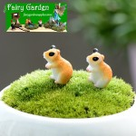zakkaGroceries  Fairy Garden Micro Landscape Miniature Garden  Lovely Hamster   Fairy Garden Micro Landscape Miniature Garden Fairy Garden AccessoriesResin Small Fairy Garden Decoration Fairy Garden Accessories  Background Stage Property