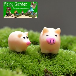 Rabbit Boating Animal Miniature Fairy Home Garden Decoration Landscaping ZY