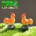 Moss Fairy Garden Micro Landscape Miniature Garden Decorate Fairy Garden Decoration Fairy Garden Accessories  Landscaping Cartoon  Mini  Color Chicken  FleshyAccessories