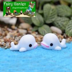 ocean Landscaping Essential  Big Dolphin  FleshyMoss Fairy Garden Micro Landscape Miniature Garden Ecology Bottle DIYFairy Garden Accessories