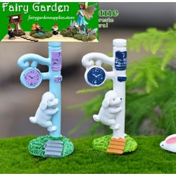 Fairy Garden Micro Landscape Miniature Garden Fairy Garden Decoration Fairy Garden Accessories  Resin Arts and Crafts  DIYLandscaping Fairy Garden Ornament   Pot Decorate     Small Dog