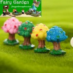 Moss Fairy Garden Micro Landscape Miniature Garden Fairy Garden Ornament  Resin  Small  Landscaping Apple Tree   DIYAssemble Small Fairy Garden Decoration Fairy Garden Accessories Toys