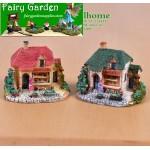 Fairy Garden Micro Landscape Miniature Garden Fairy Garden Decoration Fairy Garden Accessories  FleshyResin Decorate   Big Villa   House Model  DIYMaterial
