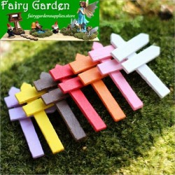 Signpost  Moss Fairy Garden Micro Landscape Miniature Garden Fairy Garden Decoration Fairy Garden Accessories Fairy Garden Ornament  FleshyWood Fairy Garden Decoration Fairy Garden Accessories  Fence CraftworkFairy Garden Decoration Fairy Garden Accessori
