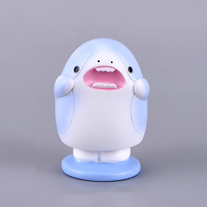 Resin-Cartoon-Cute-Sea-Life-Shark-Models-Anime-Figure-Home-Shaking-Head-Car-Decoration-Materials-Desktop-Toys-Figma-Gifts-Dolls-4000117495379